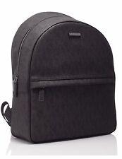 NWT Michael Kors Jet Set Men's Logo PVC Brown Backpack 37T6SMNB3B MSRP $ 398