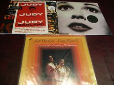 JUDY GARLAND STAR BORN & CARNEGIE HALL +MFSL Judy Garland / Liza Minnelli LP SET