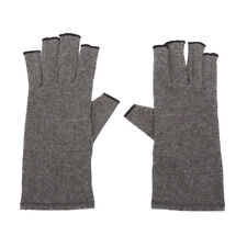 Arthritis Copper Fingerless gloves compression therapy improves'circulation JFAU