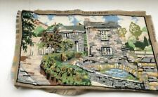 Completed Tapestry= Country Scene