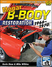 GTX and Roadrunner Restoration Guide 1970 1969 1968 Plymouth Road Runner Book