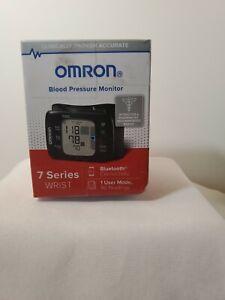 OMRON 7 Series Wireless Wrist Blood Pressure Monitor, Black NEW
