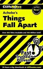 CliffsNotes on Achebe's Things Fall Apart (Dummies Trade) Chua, John Paperback