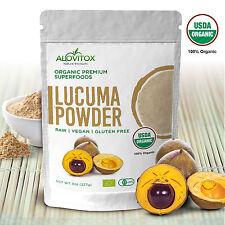 Lucuma Powder by Alovitox 8 oz Organic Low Glycemic Index Antioxidant