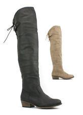 Unbranded Faux Suede Block Low (0.5-1.5 in.) Women's Heels