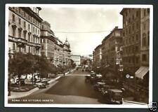 Roma : Via Vittorio Veneto -  non viaggiata indicativamente anno 1935