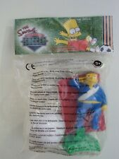 Burger King Kids Club Toy The Simpsons Springfield Soccer Barney Gumble - sealed