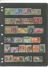 TOP NEEWS EXCLU: très beau lot de timbres anciens INDE ANGLAISE .2 scans .super
