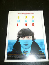 SUBMARINE, film card [Craig Roberts, Noah Taylor, Paddy Considine]