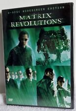 The Matrix Revolutions (DVD, 2004, 2-Disc Set) Sci-Fi New Sealed Free Shipping