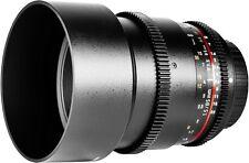 Samyang 85mm T1.5 as If UMC VDSLR Lens Sony a Mount QG