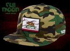 New Billabong Native California Flag Camo Mens Snapback Cap Hat