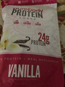 Pure Body Protein Shake Vanilla