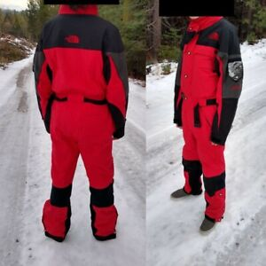 Vintage 90s The North Face 'Extreme Gear' Ski Suit! Sz M.One Piece Snowsuit.