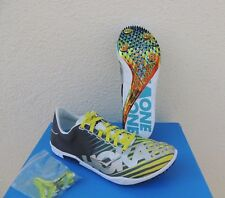 HOKA ONE ONE SPEED EVO RIO SPIKES RUNNING SHOES, MEN US 10.5 / EUR 44 2/3 ~NIB