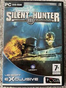 Silent Hunter III 3 - Windows PC - Focus - Ubisoft DVD-ROM, Good.