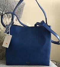 Bnwt Radley hope street Large royal blue leather shoulder bag new Rrp £229