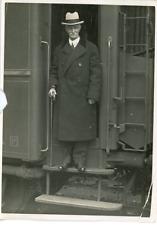 Le Maréchal Paszinski, président de la Diète Polonaise à Paris Vintage silver pr