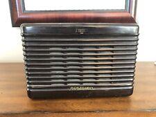 VINTAGE RCA VICTOR MODEL 45-EY-3 BAKELITE RECORD PLAYER - VERY NICE