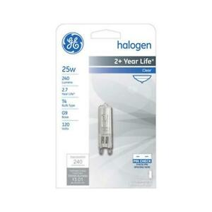 GE - 60W - T4 Looped Pin G9 Base Halogen 780 Lumens - 120Volt Bulb