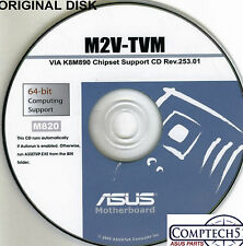 ASUS GENUINE VINTAGE ORIGINAL DISK FOR M2V-TVM Motherboard Drivers Disk M820