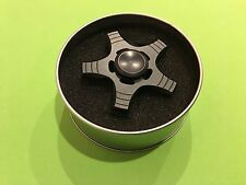 Newest STAINLESS METAL HAND SPINNER FIDGET CERAMIC FASTEST BEARING DESK TOY