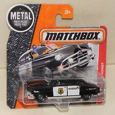 Matchbox '51 HUDSON HORNET Sheriff Polizei Police Oldtimer MBX Heroic Rescue NEU
