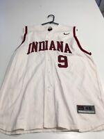 Game Worn Used Indiana Hoosiers Baseball Jersey Nike Size 46 #9