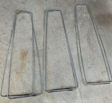 3 Sets Adjustable Heavy Duty Metal Pant Leg Stretchers Pleats Old Fashion Works!