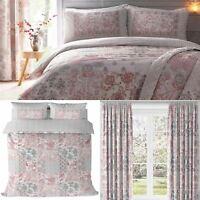 Patchwork Duvet Covers Pink Jakarta Floral Quilt Sets Luxury Bedding Collection