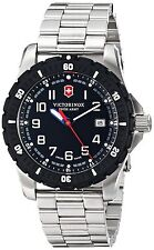 Victorinox Swiss Army Black Dial Stainless Steel Men's Watch 241675