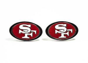 San Francisco 49ers Cufflinks NFL Football