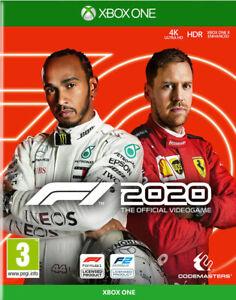 XBOX ONE F1 2020 20 Formel Eins NEU&OVP