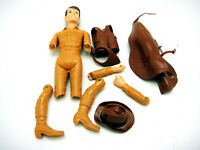 Vintage Marx Jay West Johnnys Son Action Figure Parts Only