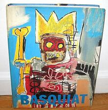Jean Michel Basquiat Monograph Tony Shafrazi Glenn O'Brien Keith Haring HC DJ