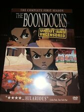Brand New The Boondocks The Complete First Season DVD Subtitled