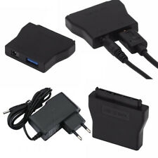 "USB 3.0 to SATA Converter Adapter 5Gbps for 2.5"" 3.5"" HDD SSD & 12V Power Supply"