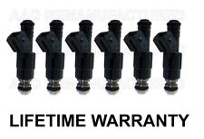 BEST UPGRADE Bosch 6 Fuel Injectors 4 Hole Nozzle for 91-98 JEEP  4.0L  318 316