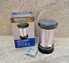Regatta Helia 3 Lantern Camping Lighting Outdoor Portable Garden Battery Light