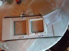 Ideal Pet Products Aluminum Sash Window Pet Door, Adjustable to Fit Window.