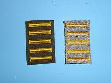 b1653-5 WW 2 US Army Overseas Bars EM style 5 bars