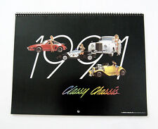Vintage 1991 2019 Classy Chassis Classic Car Calendar