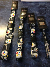 PITTSBURGH STELLERS DOG COLLAR LARGE