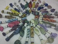 30 Matasse Grande Seta Stranded Glitter Ritorto Ricamo Thread Skiens 30 colore
