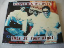 HEAVY D & THE BOYZ - THIS IS YOUR NIGHT - UK CD SINGLE