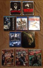 Blu Ray Lot Of 13 Movies Horror, Action, Sci Fi Steel Book, Collection