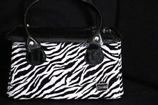 Caboodles Zebra Print Make-Up Storage Bag Organizer