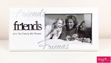"""Friends """"Are The Family We Choose"""" White Picture Frames GKI-FR1"""