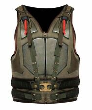 New Men's The Dark Knight Rises Movie Comic Synthetic Leather Bane Vest