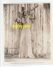 DOROTHY LAMOUR ORIGINAL 8X10 PHOTO NEW YEAR'S EVE PUBLICITY 1937